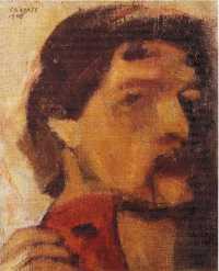 Chagall - Autoritratto 1908