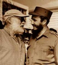 Hemingway e Castro
