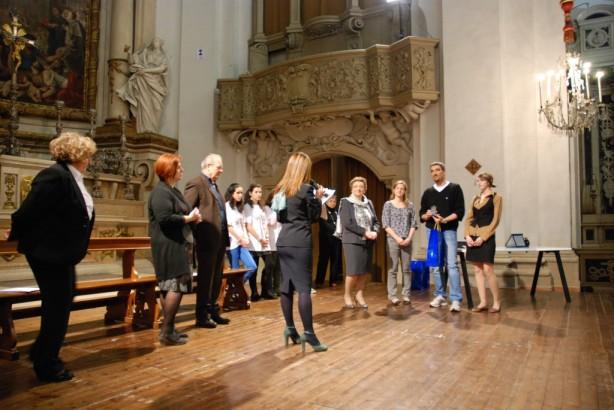 La nostra delegazione ritira il premio a Modena