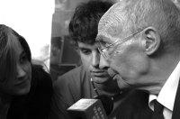Redattori al lavoro con Saramago
